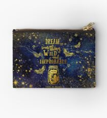 Dream Up Something Wild and Improbable Studio Pouch