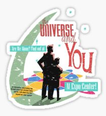 The Universe And You Sticker