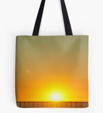 Coastal Sunset; Santa Barbara, CA USA Tote Bag