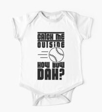 Catch me outside (Baseball) (Black) Kids Clothes