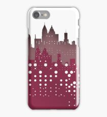 Atlanta skyline over violet. iPhone Case/Skin