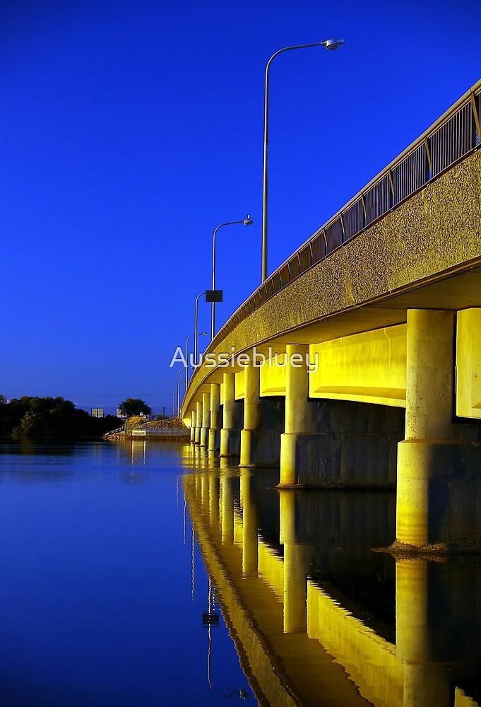 Bridge at Sunrise. by Aussiebluey