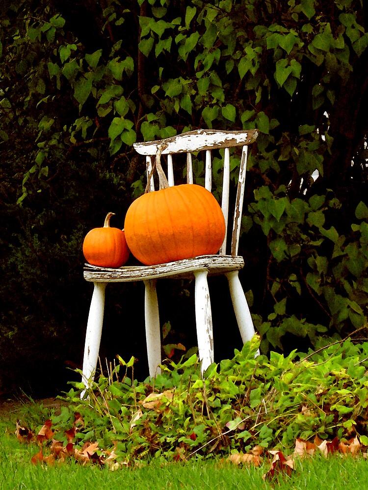 Pumpkin Throne by nikspix