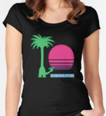 So tall.... Women's Fitted Scoop T-Shirt