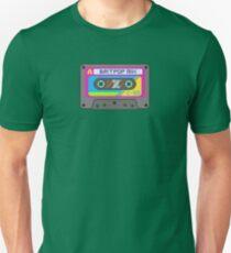 Pixel Art Britpop Cassette Tape T-Shirt