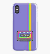 Pixel Art Britpop Cassette Tape iPhone Case/Skin