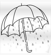 Ironic Umbrella  Poster