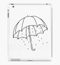 Ironic Umbrella  iPad Case/Skin