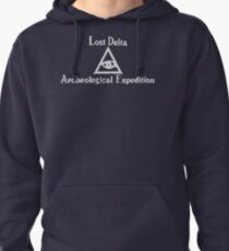 Lost Delta Expedition  Pullover Hoodie