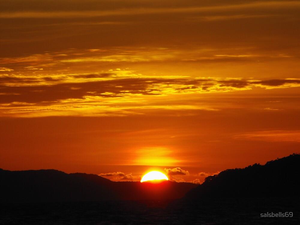 Koh Phra Nang Sunset by salsbells69