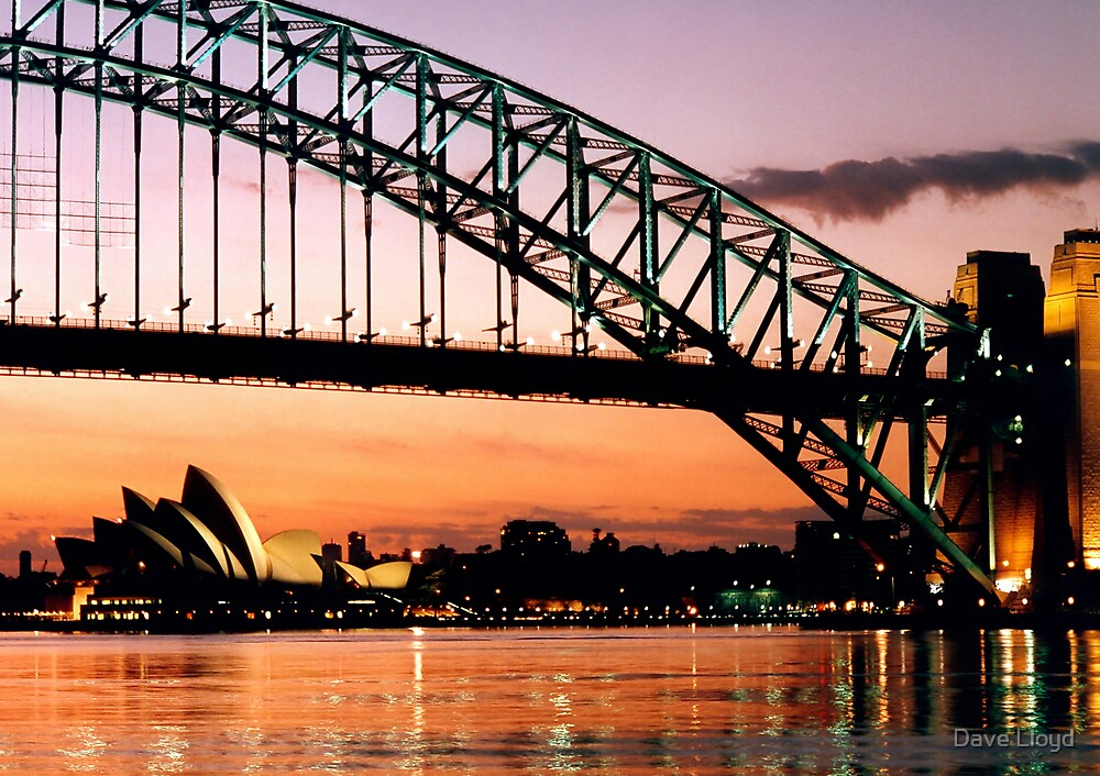 Sydney Dawn by Dave Lloyd
