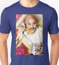 "FRANKLIN FUENTES ""IF MADONNA CALLS"": PINK/ GOLD 8x10 Unisex T-Shirt"