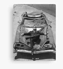 Bryan Cranston (black&white) Canvas Print