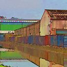 Factories - Watercolour by Glen Allen