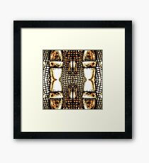 Go For The Gold Framed Print