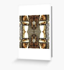 Go For The Gold Greeting Card