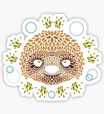 Sloth Face Sticker