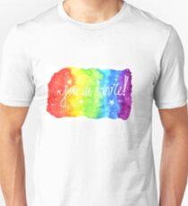 Lebensfreude! - Lebensfreude Unisex T-Shirt