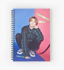 youngjae got7 flight arival Spiral Notebook