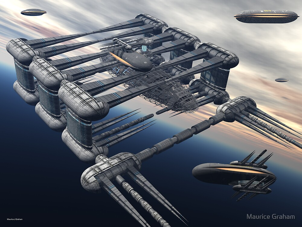Vailixi Construction Station by Maurice Graham