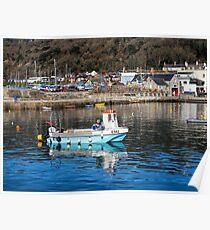 Somni E582 - Lyme Regis Harbour Poster