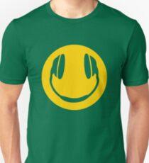 Headphone Smiley  Unisex T-Shirt