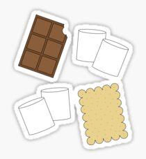 Make me some s'mores. Sticker
