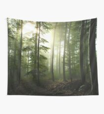 Foggy Woods Tapestry