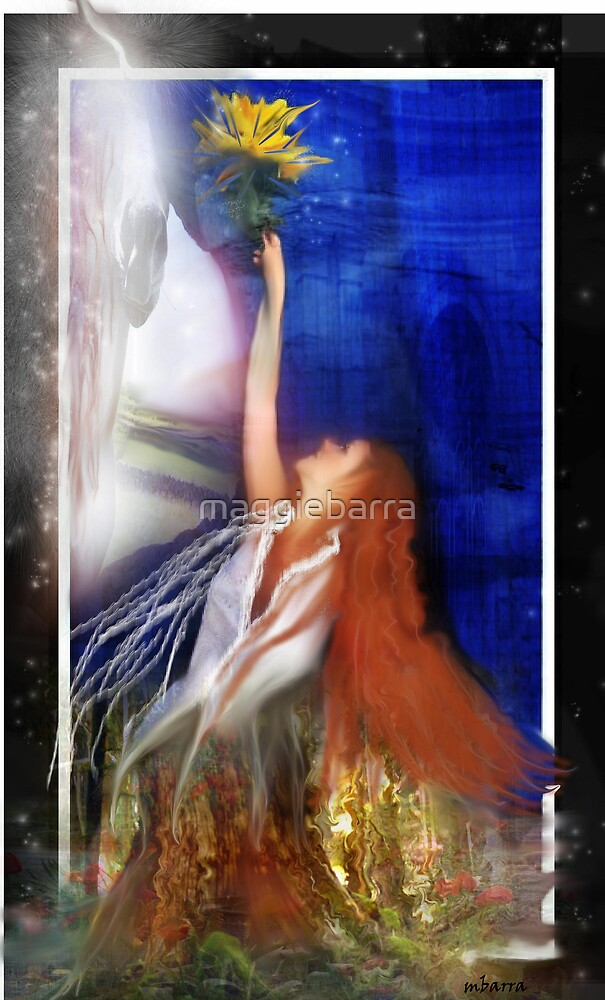 Tree Deva by maggiebarra