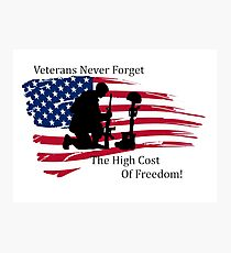 Cost of Freedom Photographic Print