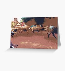 Fort Worth Greeting Card