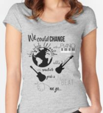 What do I know? Women's Fitted Scoop T-Shirt