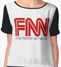 FNN - Fake News Network Women's Chiffon Top