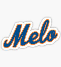 Melo Mets text 1 Sticker