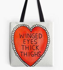 Winged Eyes Tote Bag
