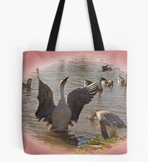 waterfowl Tote Bag