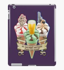 Three Flavours Cornetto Trilogy with banner iPad Case/Skin