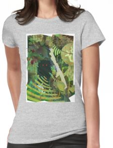 Jungle Monster ! Womens Fitted T-Shirt