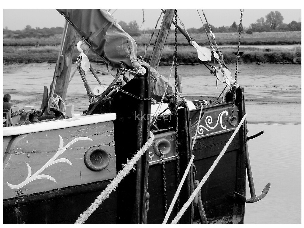 Maldon Boats by kkmeer