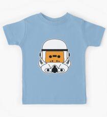 Cassette Trooper - Orange Kids Tee