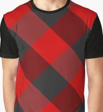 Red plaid #1 Graphic T-Shirt