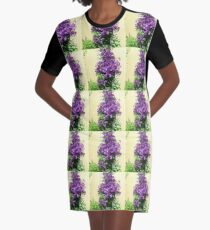 Country Posies Graphic T-Shirt Dress