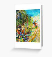 Papaya greeting cards redbubble tropical cornucopia greeting card m4hsunfo