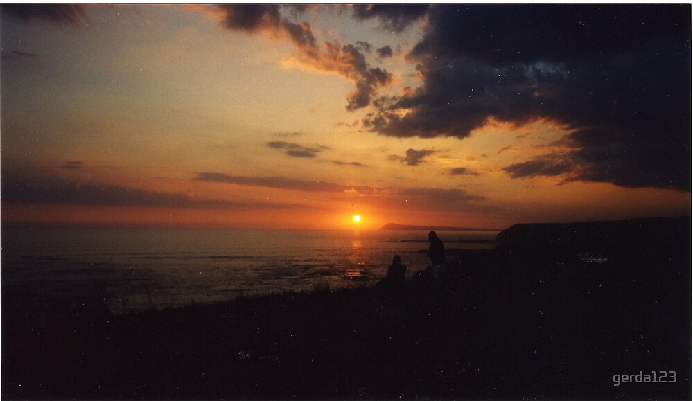 Sunset at Kilcunda by gerda123