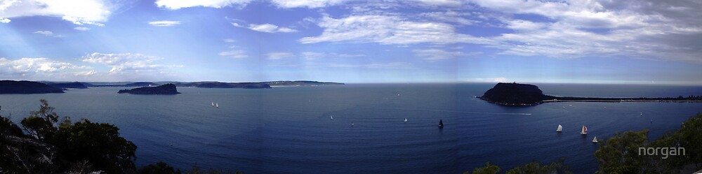 West Head NSW Panaoramic by norgan