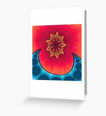 Mandala Wave Greeting Card