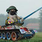 Tank Pug by Phil Rowe