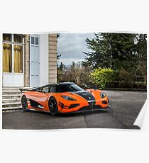 Koenigsegg Agera RS XS Poster