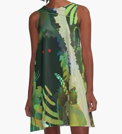 Jungle Monster ! A-Line Dress