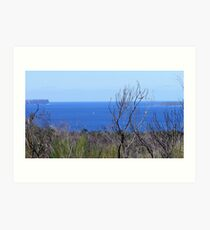 Huskisson Heads Art Print